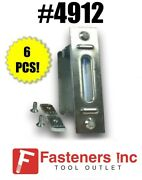 Qty 6 Metal Electrical Outlet Box For Unistrut Channel 2 X 4 4912 Ps-2639