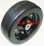 10x 3.25 Finish Mower Wheel -solid Molded Tire - Fits 1 Axle