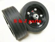Caroni Replacement Finish Mower Wheel/solid Molded Tire 1/2 Axle 59008700
