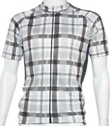 Steel Plaid Cycling Jersey By Belch. Founded From Fun.