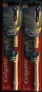 4 Colgate Replacement Soft Brush Heads 360 Cheek And Tongue Cleaner 2 Packs