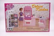 My Fancy Life Gloria Deluxe Kitchen Play Set 9986 For 11.5 Dolls