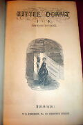 Dickens Little Dorrit. 1857 First American Illustrated Edition. Peterson