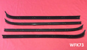 1973-79 Ford Truck And 78-79 Bronco Door Window Sweep Kit Left And Right. Premium
