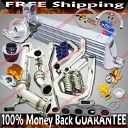 Turbo Kits T3/t4 Turbo For 02-05 Honda Civic Si Hatchback 3d 2.0 Only For Ep3