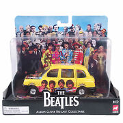 The Beatles Collectible 2008 Corgi Album Cover Die-cast Sgt. Peppers London Taxi