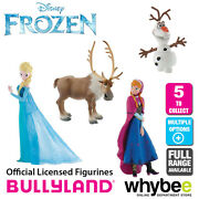 Official Bullyland Disney Frozen Figurines - 5 Cake Topper Figures To Collect