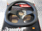 Dragonfire Steering Wheel With Quick Disconnet Leather Polaris Rzr Xp 1000 900