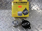 2007-08 Crf150 Filtron Super Flow Stainless Cleanable Oil Filter And Alum Cover