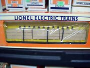 Lionel O Trains Up Union Pacific Center I Beam Flat Car 6-16380