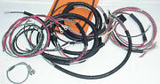 New 1948-1953 Ohv Twin Panhead Complete Wiring Kit Slide-on Loom