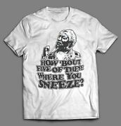 Fred Sanford And Son How Bout 5 Of These Oldskool Artwork Tshirt Many Options