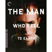 🔥 New The Man Who Fell To Earth Blu-ray Criterion Bowie Sealed Deleted Oop