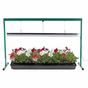 Ipower 4 Feet 54w 6400k Fluorescent T5 Grow Light Stand Rack For Seed Starting