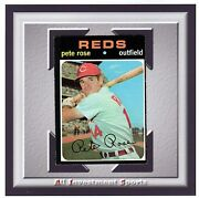 1971 Topps Pete Rose 100 Exmt+ Awesome Card For Your Set M47c