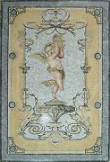 Cupid Music Sound Soul Wing Angel Baby Home Decor Marble Mosaic Fg547