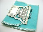 Sterling And Co. Vintage Computer Bookmark Silver With Original Bag