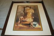 Sandy Lynam Clough Signed Le 281/1000 Matted And Framed Art Print 27x33