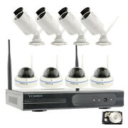 Vcamdo Cctv System Security Surveillance Wireless Ip Camera With Night Vision