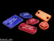 Zeta Front Brake Reservoir Cover Red 2004-08 Rm125 And Rm250