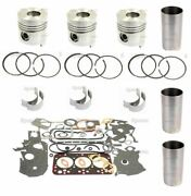 Made To Fit Allis Chalmers 5040 3 Cyl. 8035.01 Diesel Engine Overhaul Kit