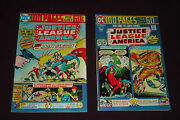 Justice League Of America 114 And 115 100 Page Giants 1975, Dc Beauty Pair