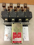 8903v03 Square D 200a 4 Pole Lighting Contactor 120v Coil Great Contacts