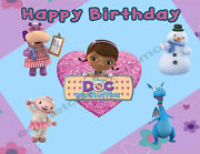 Doc Mcstuffins Personalized Edible Print Cake Topper Frosting Sheets 5 Sizes