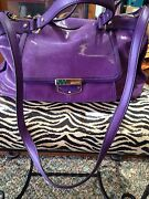 B. Makowsky 100 Genuine Leather Handbag With Dust Cover Excellent Condition