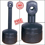 Outdoor Cigarette Ashtray Smokers Receptacle Butt Holder Stand Patio Ash Tray