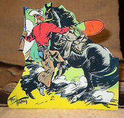 Red Ryder Western Cowboy Color Comic Tabletop Display Standee 7.5 Tall
