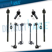 Sway Bar Links Inner Outer Tierod Kit For 1999 2000 2001 2002 2003 Lexus Rx300