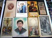 Lot Holy Prayer Cards Namuncura Our Lady Perpetual Help Our Lady Orchard