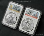 A Rare And Unique Set Of 2012 Silver Eagles - First Day Strikes