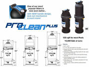 Waterway Pool Filter System W/cartridge Pro Clear 100 150 200 Sqft Complete