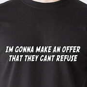 Im Gonna Make An Offer That They Cant Refuse. Sexy Money Car Retro Funny T-shirt