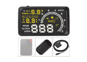 5.5 Screen Elm327 Diagnostic Interface Head Up Display With Obd2 Speed Warning