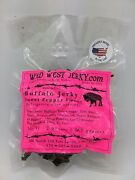 Best Natural Grass Fed Hand Stripped 2 Oz. Delicious Buffalo Sweet Pepper Jerky