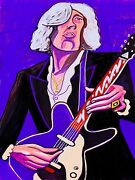 Jimmy Page Print Poster Danelectro Guitar Song Remains Same Cd Led Zeppelin Iii