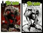 Image Mexico Spawn 216 Todd Mcfarlane Color And Sketch Variant