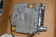 Ford Thunderbird Tbird Pushbutton Am Radio 1962 62 Pro Serviced And Bezel And3 Knobs