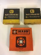 End Mill Cutters Lot Of 3