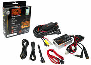 New Pac Is77 Universal Car Wired Fm Modulator Ipod Iphone Usb Aux 3.5 Power Port