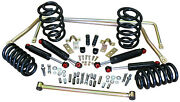 1965-72 Chevy/gmc Truck, Stage 2 Suspension Kit, Coil Springs Front And Rear Sbc