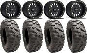 Method 406 14 Beadlk Black Wheels 30 Roctane Xd Tires Sportsman Rzr Ranger