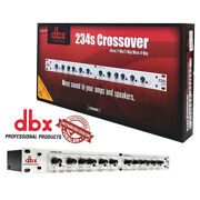 Dbx 234s Professional Crossover Stereo 2 / 3 Way, Mono 4 Way 691991401282