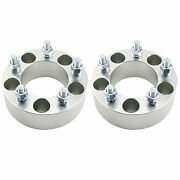 2 2 Wheel Spacers Adapters 5x4.75 12x1.5 Studs For Chevy Camaro Corvette S10