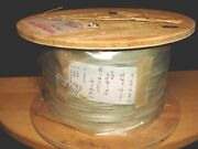 Rare - Vintage 50ft Cloth Covered Resin Shielded - 22 Ga. Stranded Wire - Nos