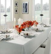 Italy Sferra Classico Round Pure Linen Tablecloth In Large Sizes
