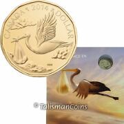 Canada 2014 Baby Born Uncirculated Mint Gift Set Special Edition 1 Stork Loonie